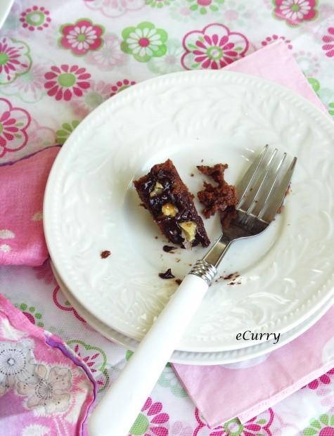 Coffee flavored Chocolate Cake