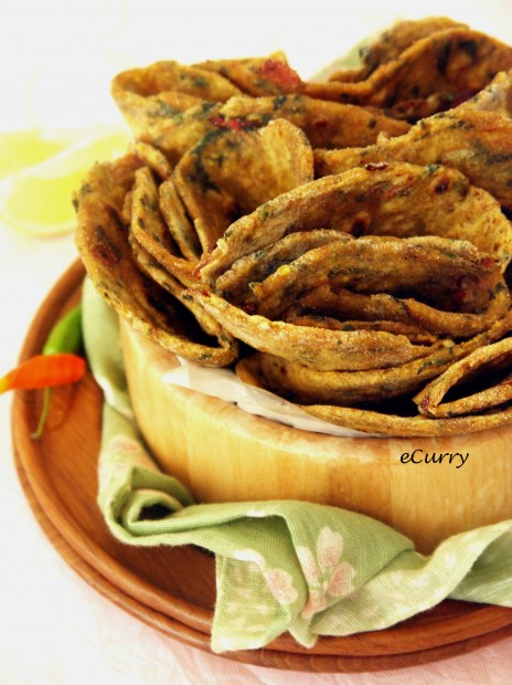 Chard Garlic Roti