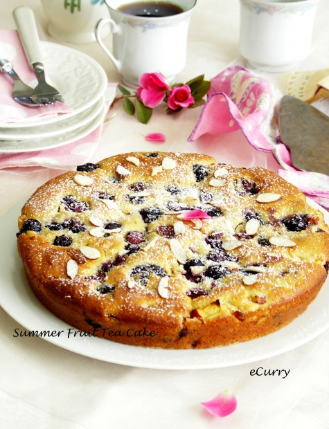 Summer Fruit Teacake