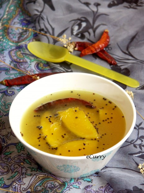 aamer ombol/chilled green mango soup