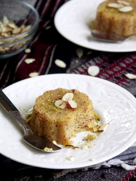 Semolina and Almond Halwa