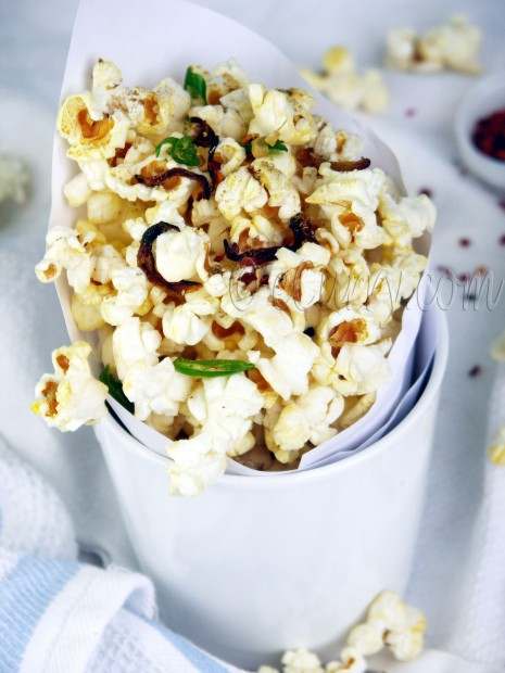 Indian Spiced Popcorn