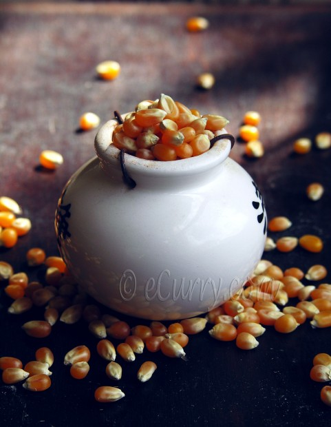 Indian Spiced Popcorn | eCurry - The Recipe Blog