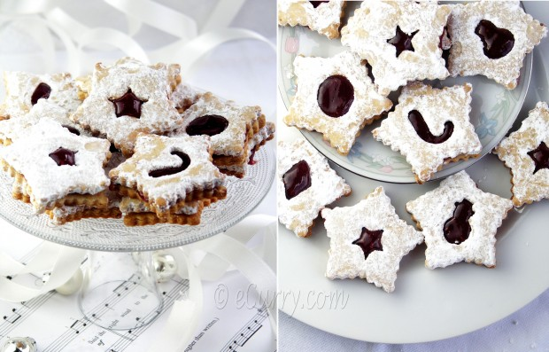 Linzer Cookies Collage 1