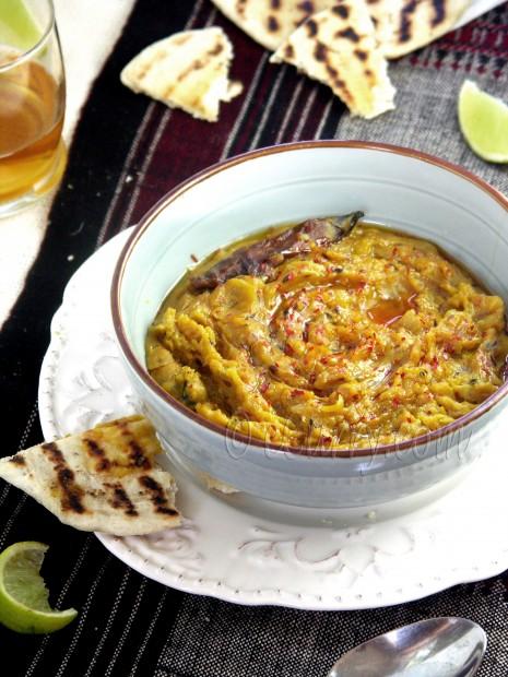 Sukhi Dal/Warm Lentil Spread