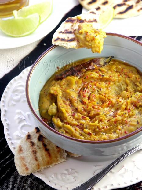 Sukhi Dal/Warm Lentil Spread | eCurry - The Recipe Blog