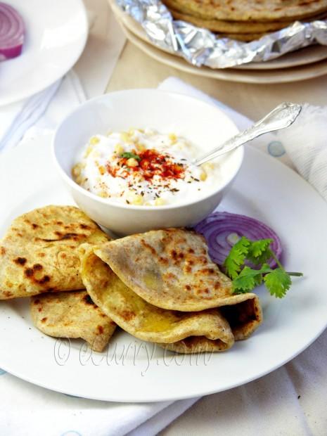 Ajwain Dal Paratha – Spiced Lentil Stuffed Flat Bread