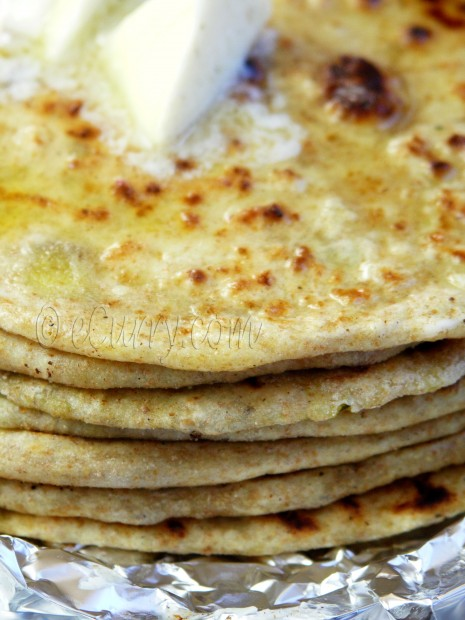 Aloo Parantha – Potato Stuffed Flatbread | eCurry - The Recipe Blog