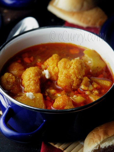 Cauliflower and Potato Stew