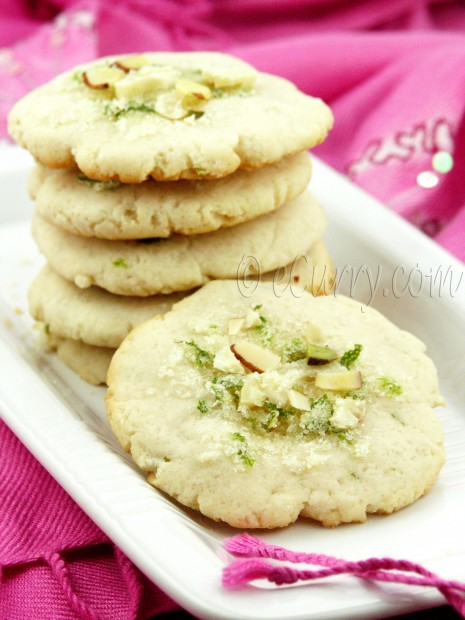Indian Lime Cookies