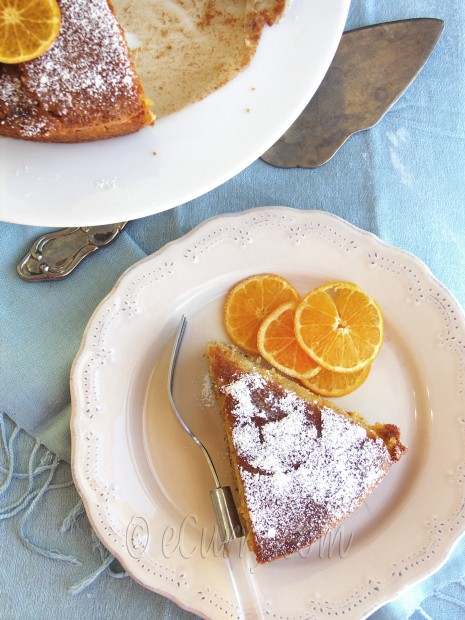 Orange Olive Oil Cake