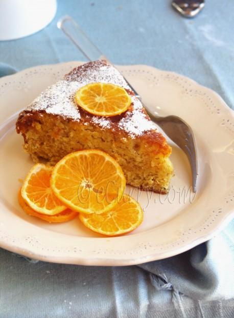 Orange Olive Oil Cake | eCurry - The Recipe Blog