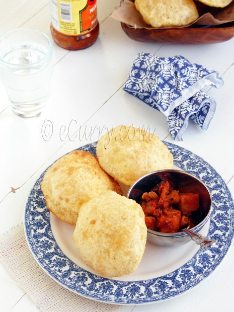 Poori -Indian Puffed Bread