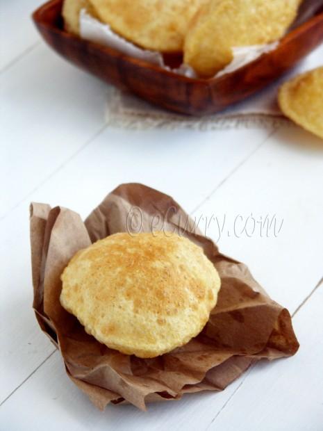 Poori – Deep Fried Puffed Bread | eCurry - The Recipe Blog