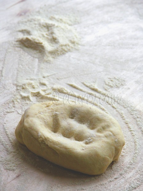 poori/bread dough