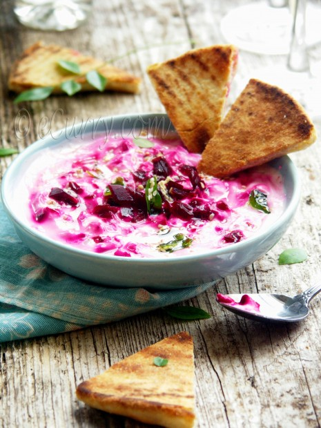 Beetroot Raita Recipe