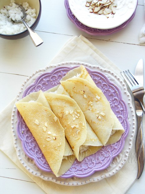 Patishapta - Crepes