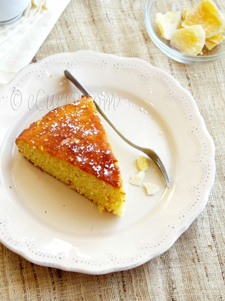 Pineapple Orange Ginger Cake