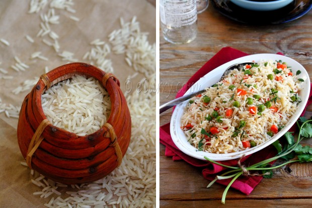 Vegetable Pulao with Basmati Rice