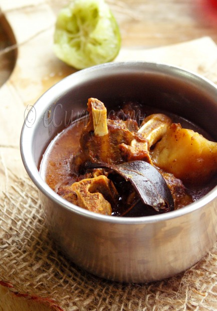 Manghsor Jhol/Bengali Mutton Curry