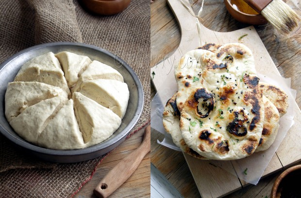 Naan with yeast