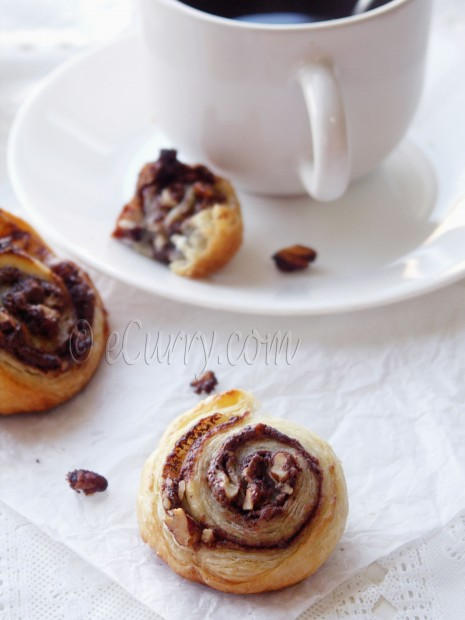 Nutty Nutella Swirls
