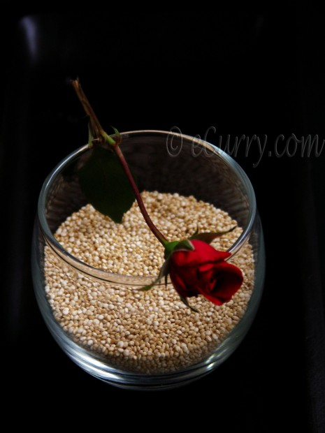 Quinoa with Rose
