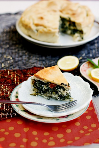 Bitter Greens and Sucuk Pie by Anh Nguyen | eCurry - The ...