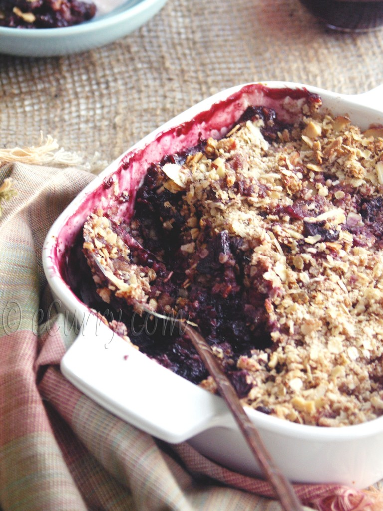 Berry Nut Crisp