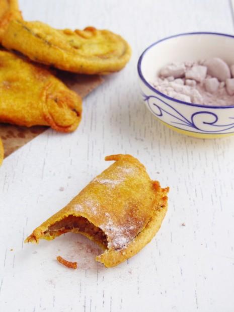Beguni- Batter Fried Eggplants | eCurry - The Recipe Blog