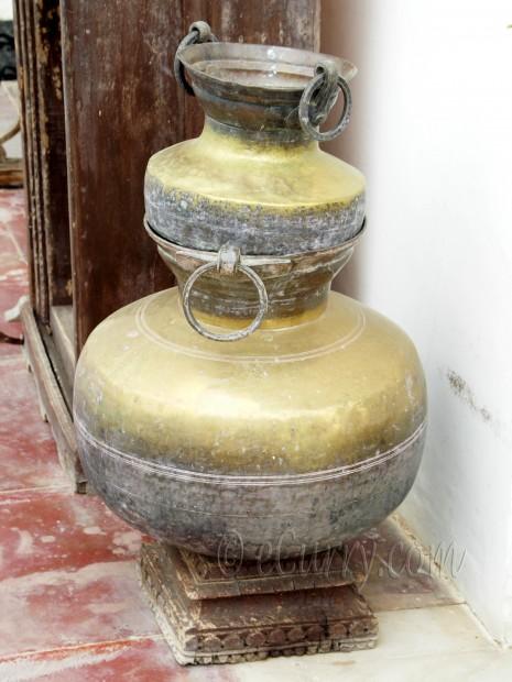 brass pots