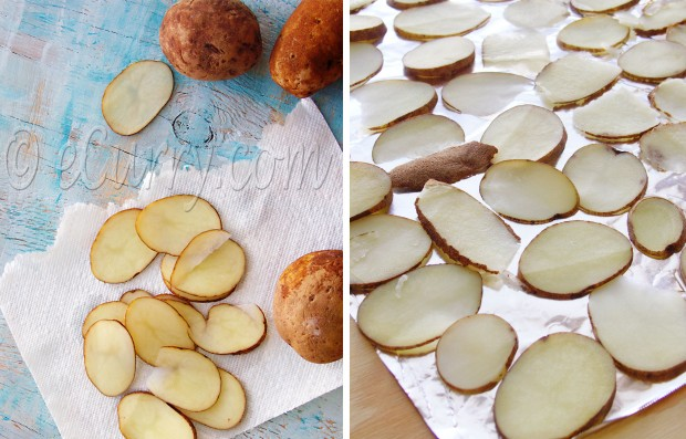 Sundried Potato Chips/home made potato chips