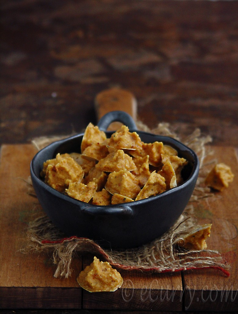 Mung Wadi or Mungaudi – Sun-dried Lentil Drops | eCurry - The Recipe ...