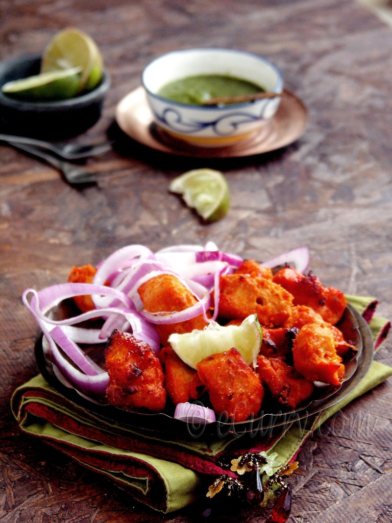 Chicken/murgh Tikka, chicken kebabs, Indian kebabs