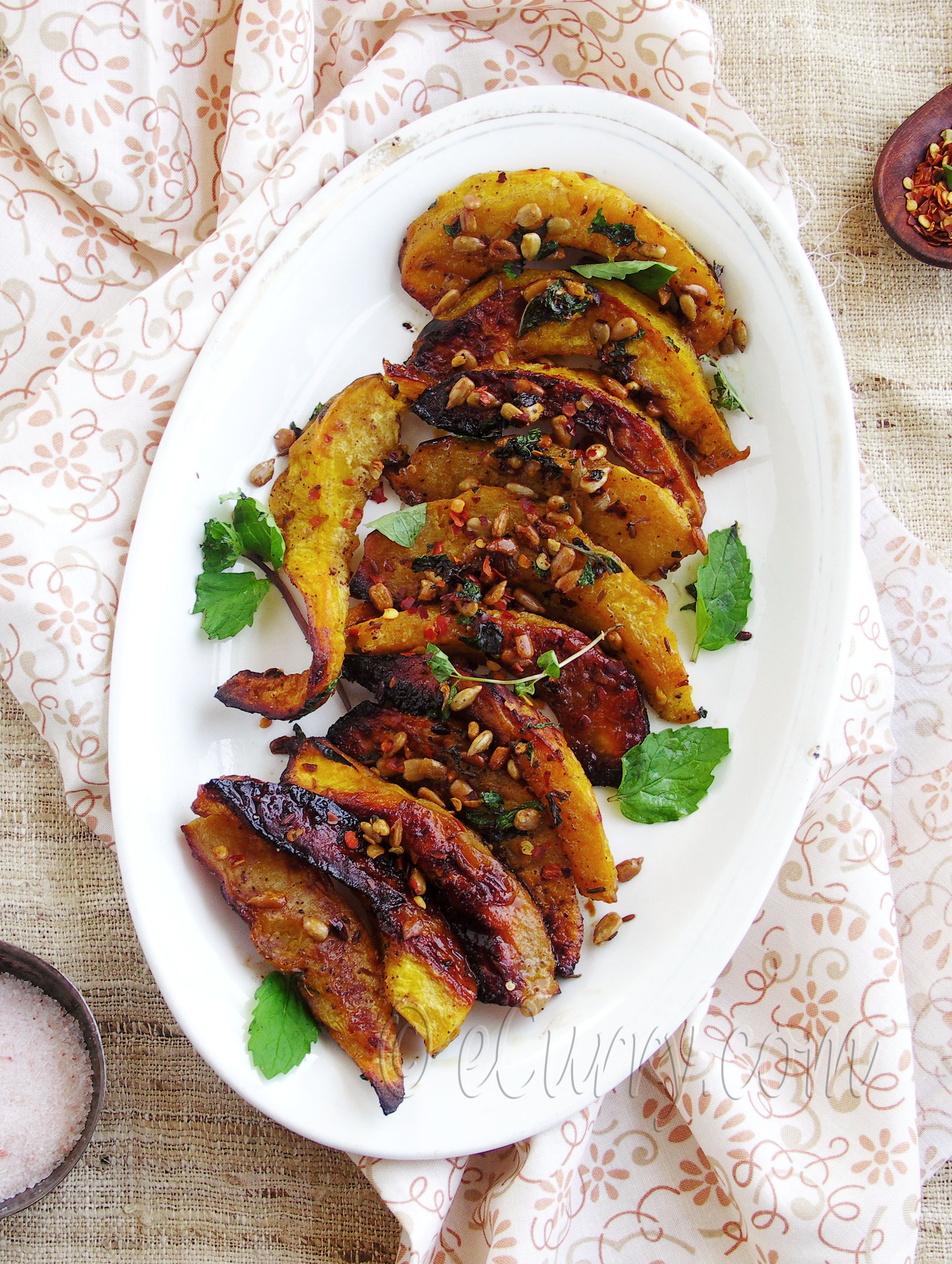 ... comments to Roasted Acorn Squash with Mint, Sumac and Sunflower Seeds