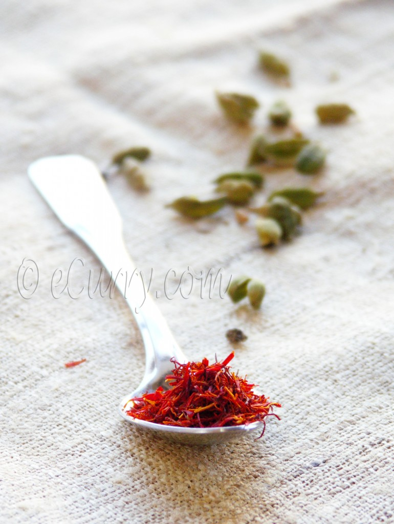 Saffron and Cardamom