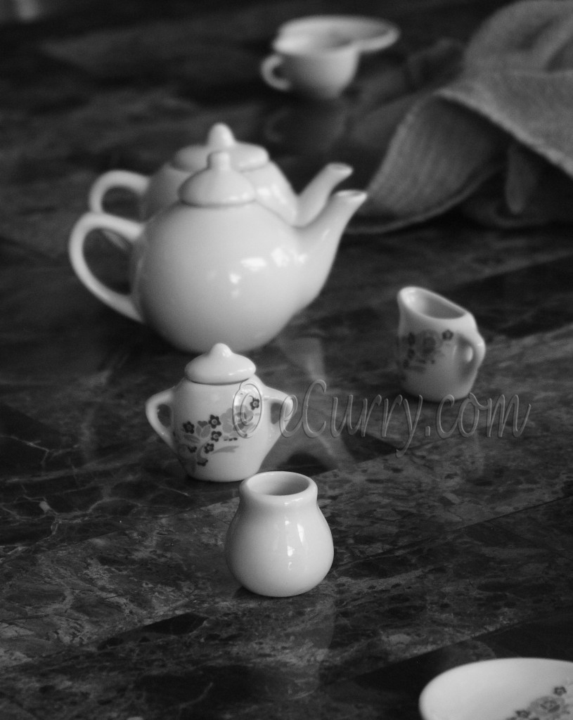 Tiny Tea Party, Tea Party, Kids party, black and white photographs, classic black and white