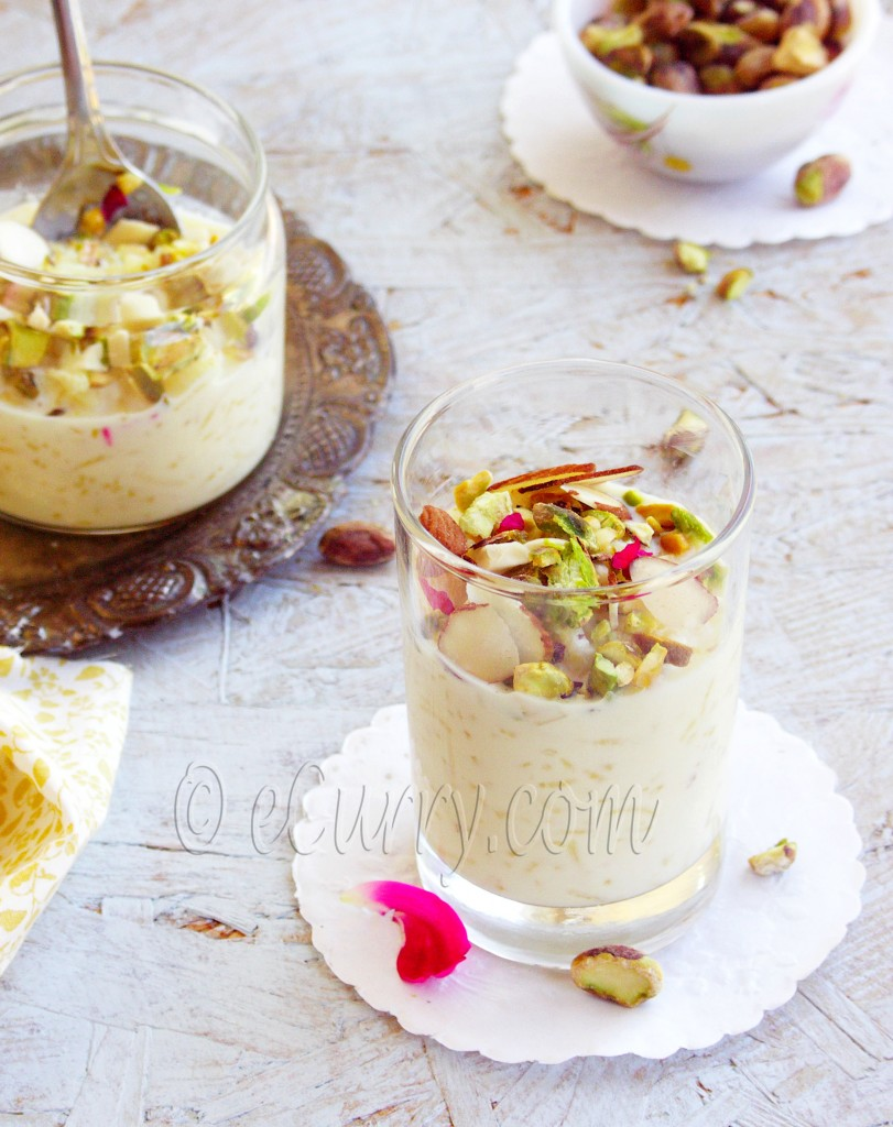 recipe: rice pudding with pistachios raisins and saffron [3]