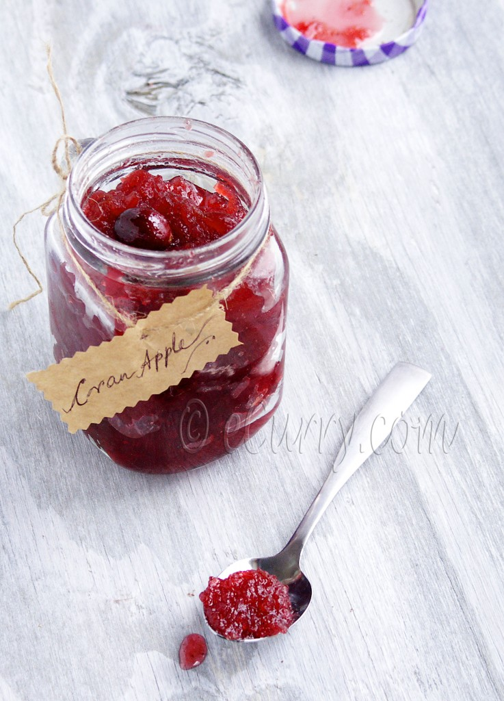 Apple Cranberry Jam/Chutney