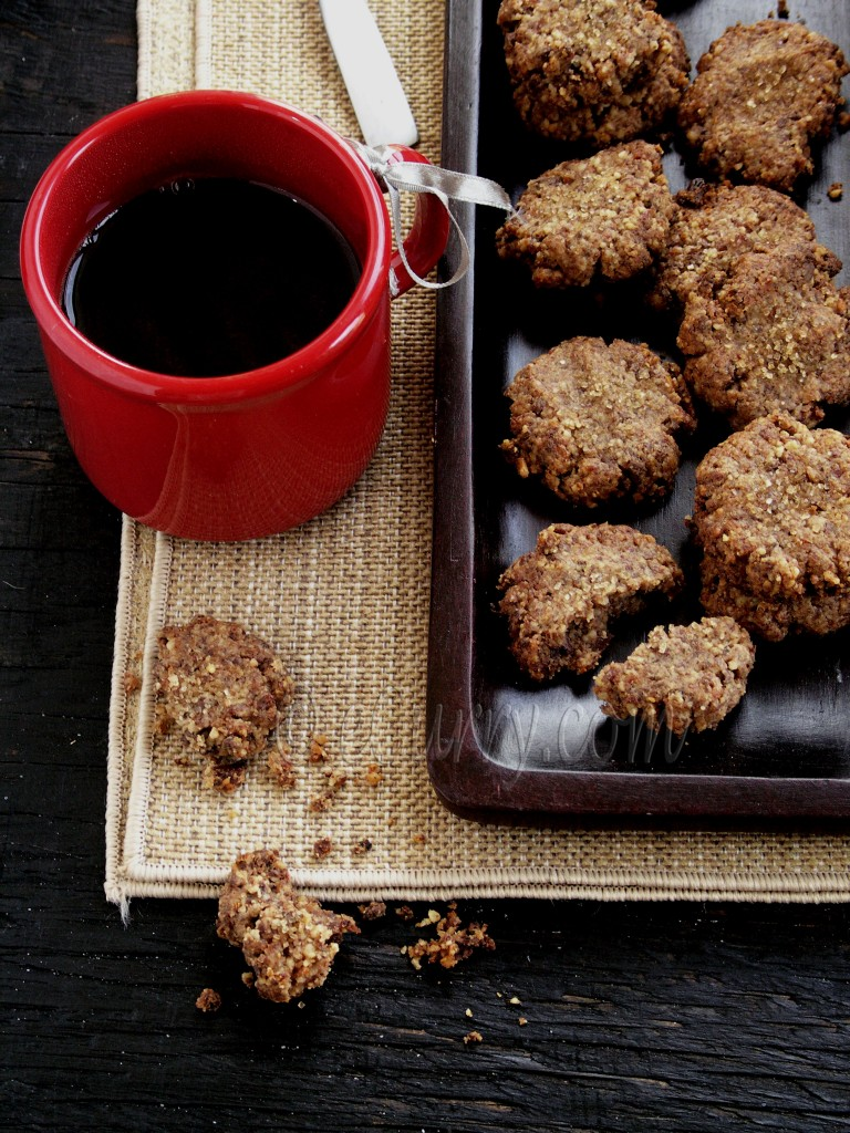 Spiced Walnut Date Chocolate Cookies