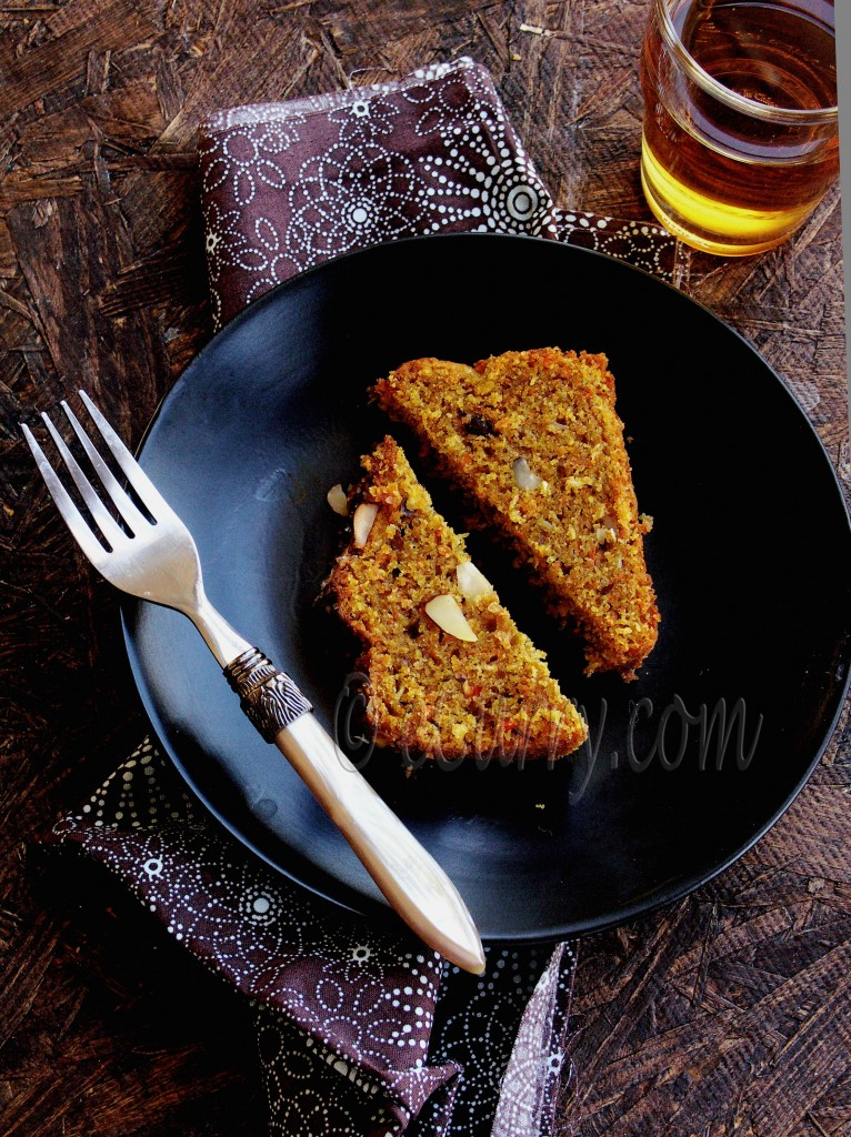 Spiced Carrot Coconut Orange Cake | eCurry - The Recipe Blog