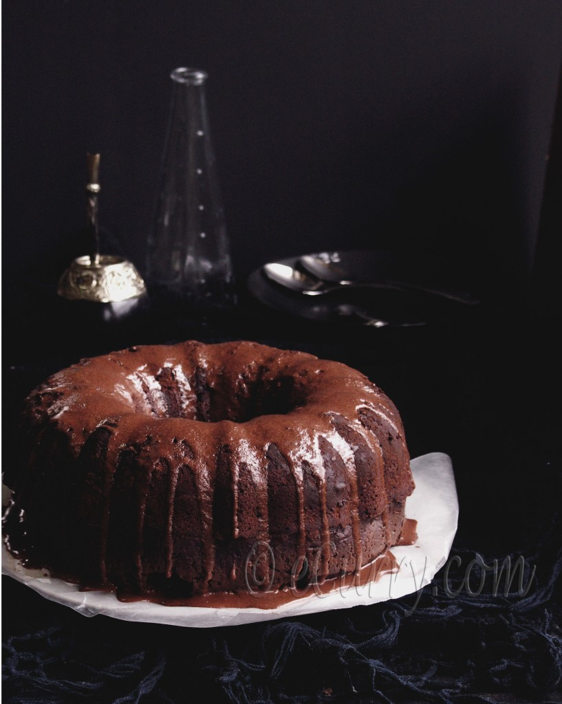 mocha rum cake