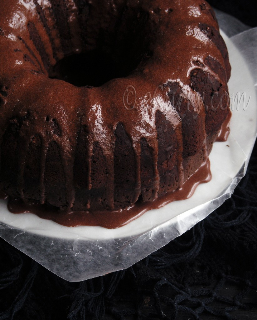 Mocha Rum Cake | eCurry - The Recipe Blog