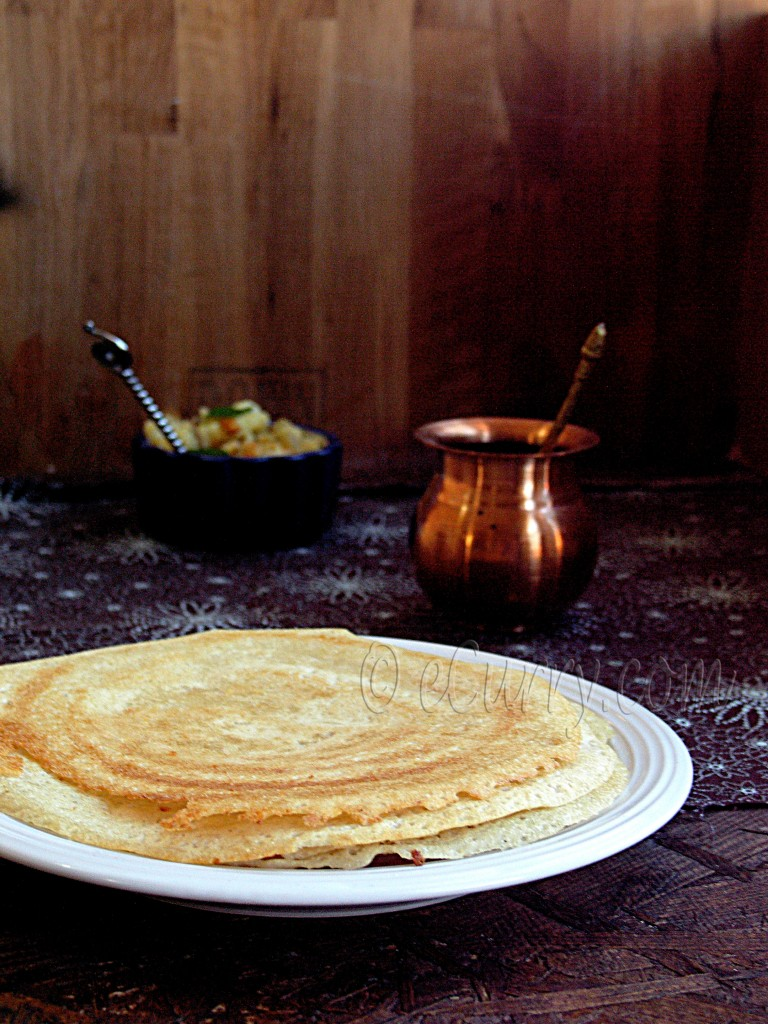 dosa - plain dosa recipe