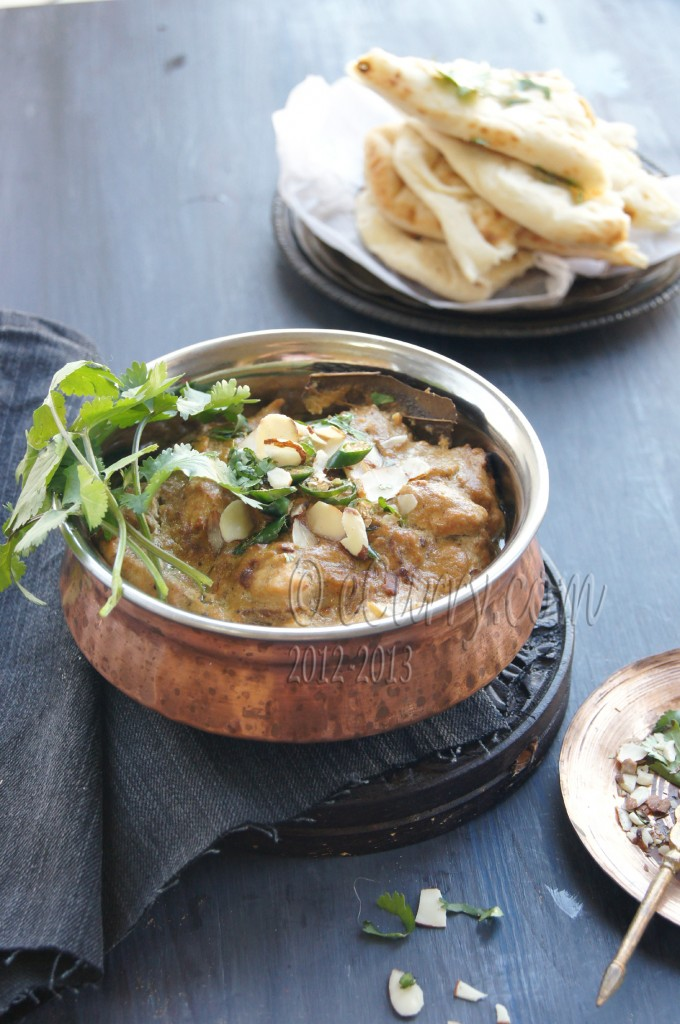 Murgh Badami: Curried Chicken in Almond Sauce | eCurry - The Recipe ...