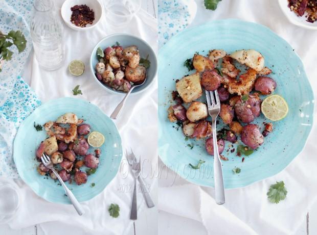 carrots indian spiced crash potatoes indian spiced crash potatoes i ...