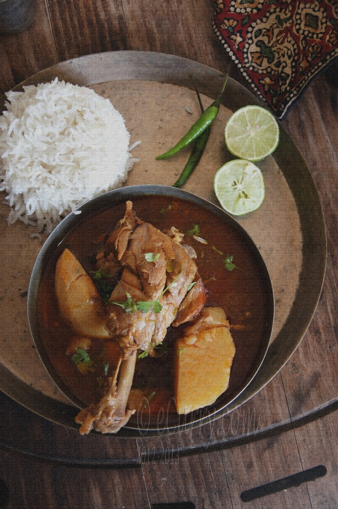 Chicken-Curry-Robibar er Murgir Jhol
