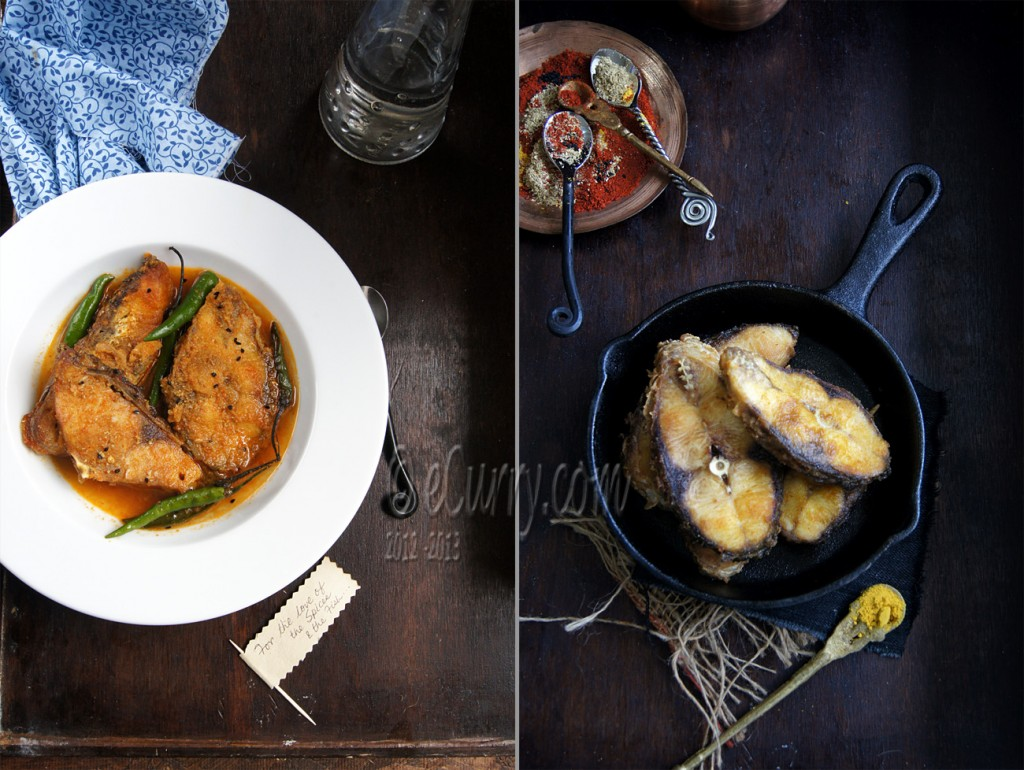 Bengali Fish curry with nigella