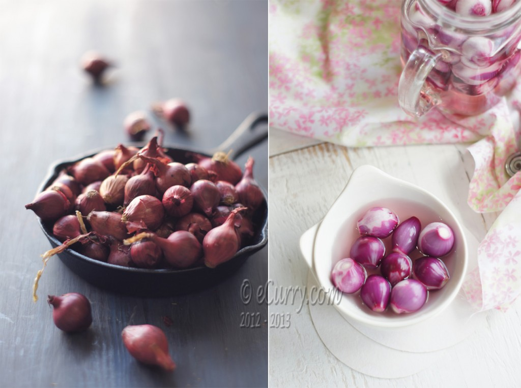 Sirke Wali Pyaz - Pickled Onion diptych 2