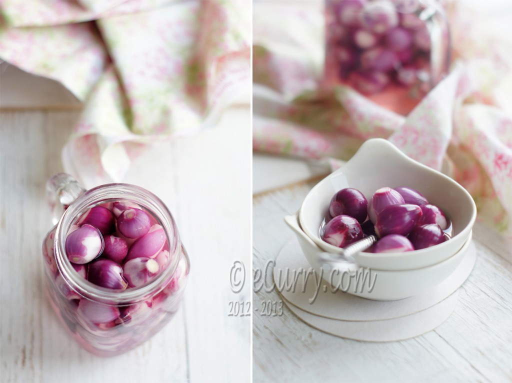 Sirke Wali Pyaz - Pickled Onions Diptych 3